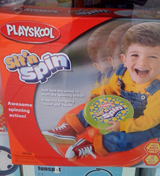 Children's toy called the Sit 'n Spin